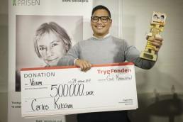 Søren Carlos - modtager af Tine Bryld Prisen 2017