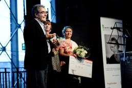 Modtager af Tine Bryld Prisen 2014: Værestedet Muhabet (Najib Haddar, Lise Poulsen og Emine Ayyildizoglu Haddar)